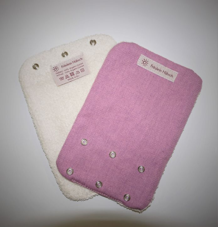 "Teething  Pads ""Lavendel\"" (Wild Rose)"