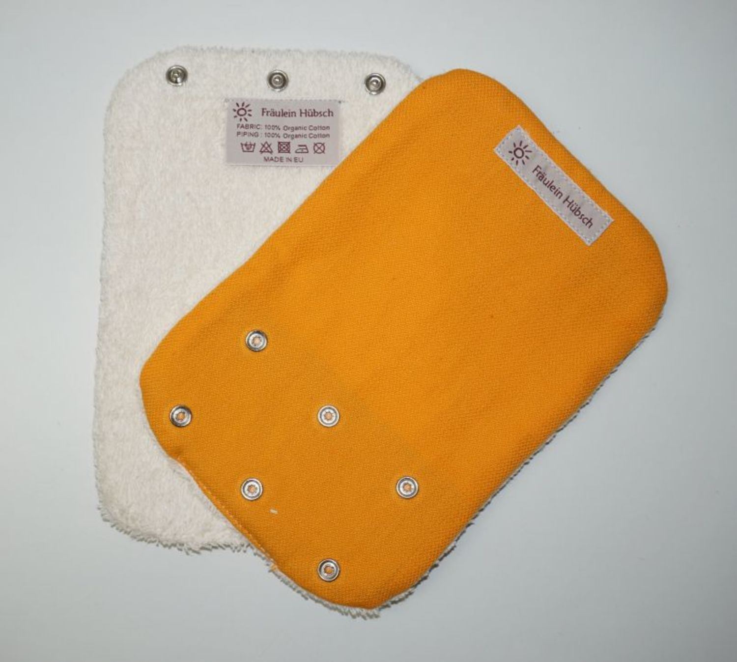 "Teething Pads ""Gold\"""