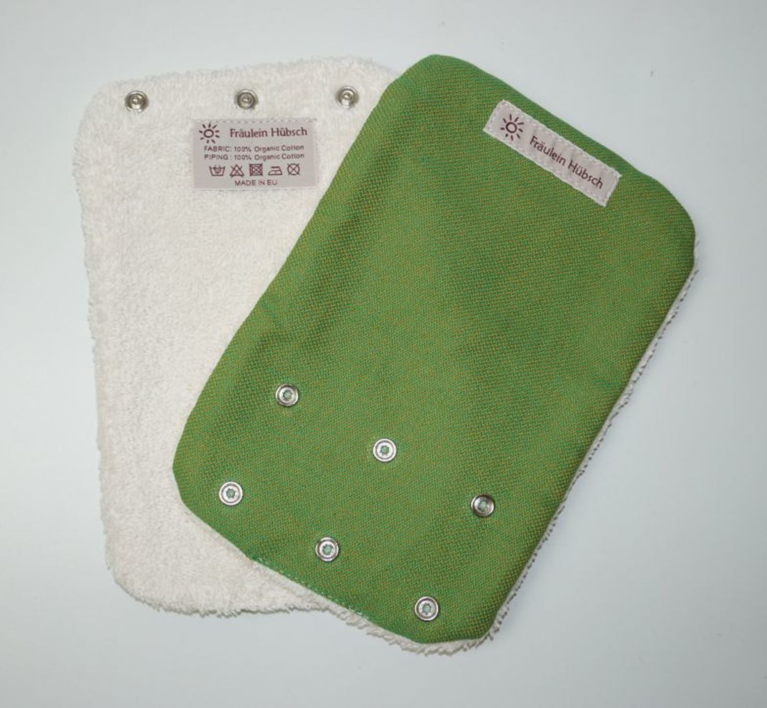 "Teething Pads ""Gelbgrün\"""