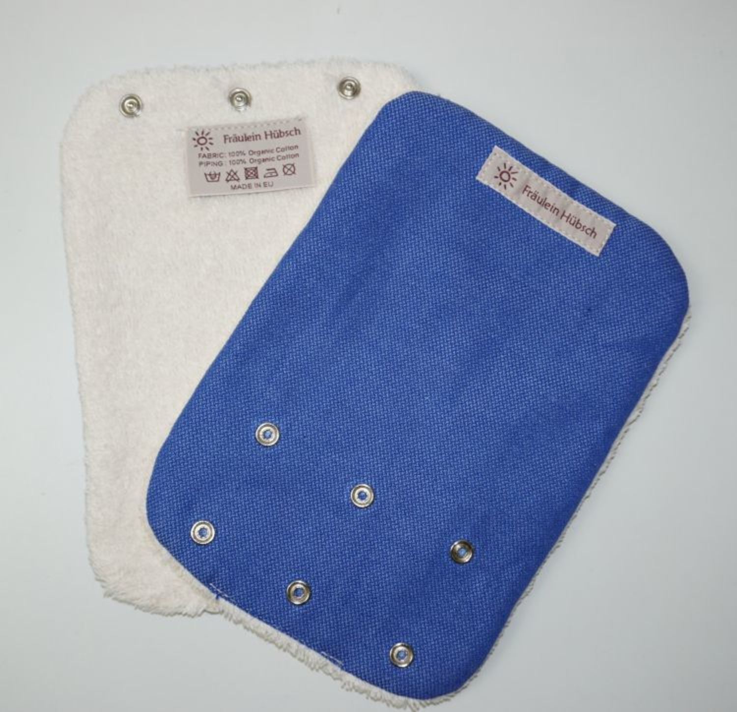 "Teething Pads ""Jeansblau\"""