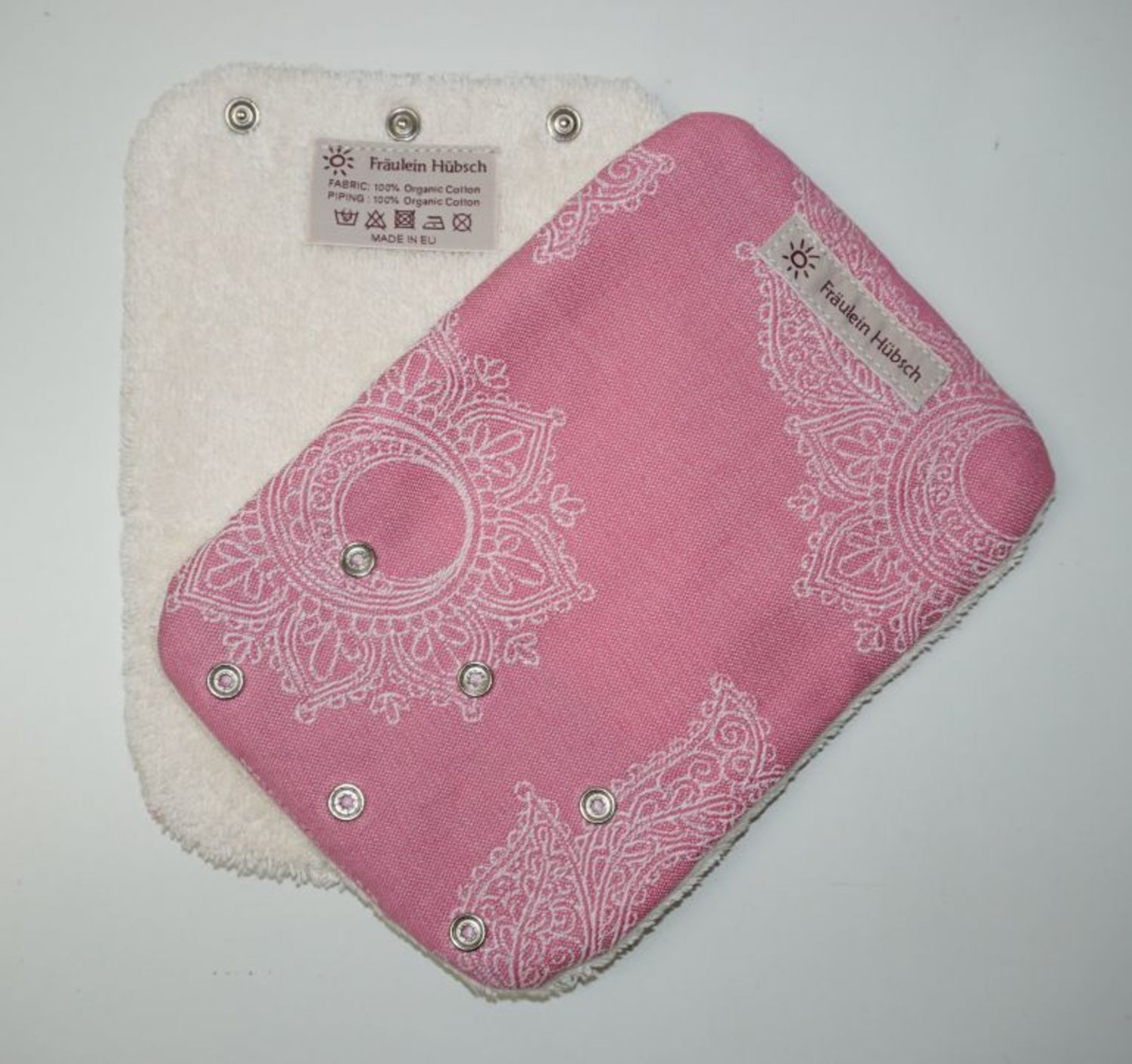 "Teething Pads ""Little Floral Rosa\"""