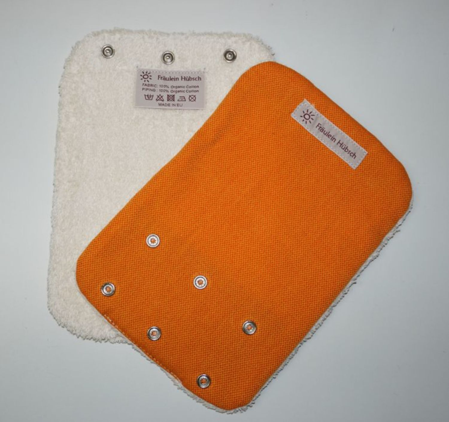 "Teething Pads ""Orange\"""