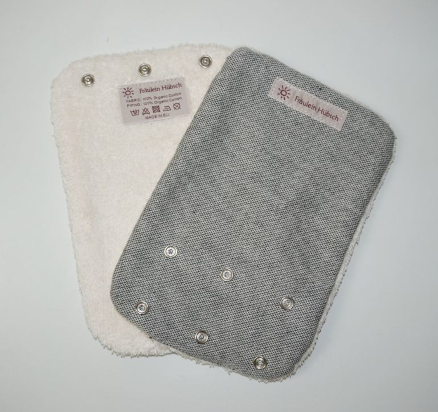 "Teething Pads ""Silber\"""