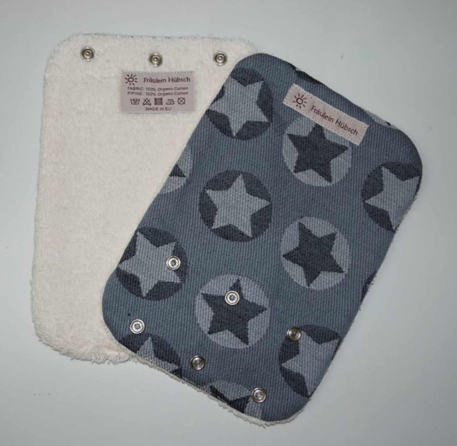 "Teething Pads ""Stars All Over Weiß\"""