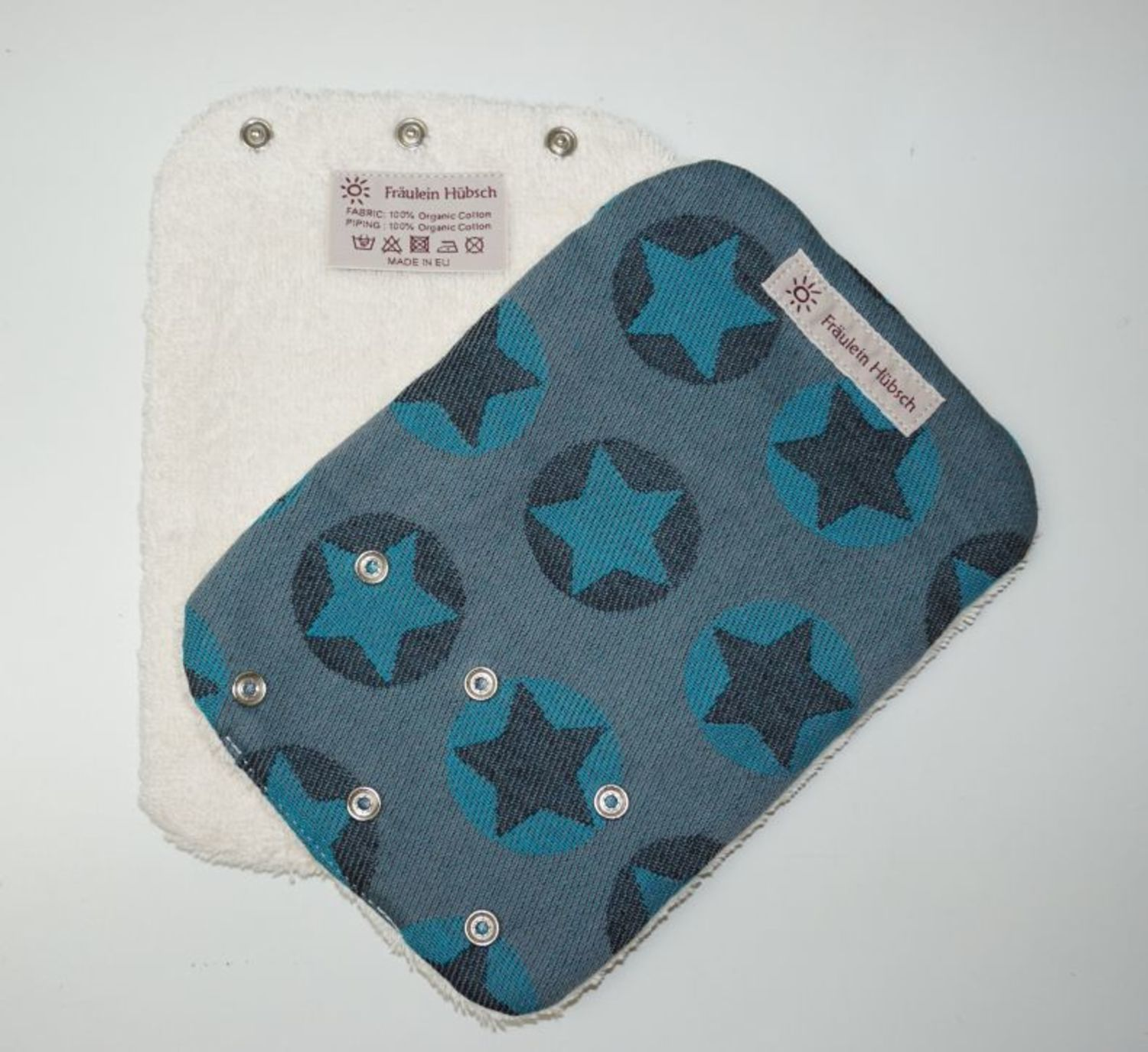 "Teething Pads ""Stars All Over Türkis\"""
