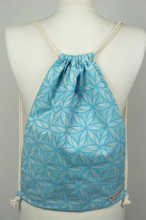 "Cotton Backpack ""Lorelei Türkis\"""