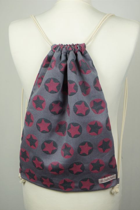 "Cotton Backpack ""Stars All Over Pink\"""