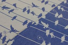 Frl. Hübsch Ringsling Birds On A Wire Marine