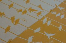 Frl. Hübsch Ringsling Birds On A Wire Melone