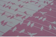 Frl. Hübsch Ringsling Birds On A Wire Rosa