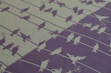 Frl. Hübsch Ringsling Birds On A Wire Lila